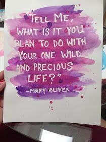 Oh. THAT Annelie...: DIY Project: Watercolor Quote