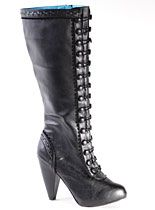 Very Victorian Knee High Boots at PLASTICLAND. This is easily one of my favorite websites! <3
