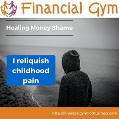 "Money Mantra - ""I relinquish childhood pain""  I have spent many years of my life being affected by the pain that people I know and care about carry around with them day after day after day.  No matter how much progress they make in other areas they inevitably end up sabotaging things without meaning to. They lose relationships friendships children opportunities jobs and spend their lives trying to figure out who they are and why things keep going tits up.  My money/financial clients deal…"