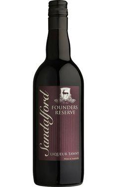 Sandalford Founders Reserve Liqueur Tawny NV Margaret River - 12 Bottles
