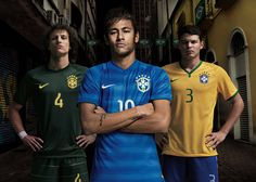 Brazil 2014 FIFA World Cup Kits