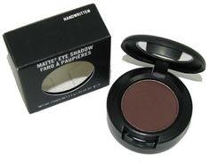 MAC Eyeshadow in Handwritten - good for a dark, smoky brown