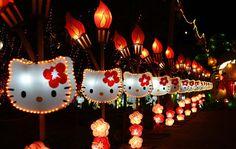 Hello Kitty lights -- LOVE!