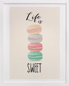 Life is Sweet by Ana Sharpe at minted.com, hannah