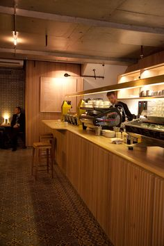 Dukes Coffee Roasters, Melbourne CBD, Photo by Melbourne Cafes Photo Blog.