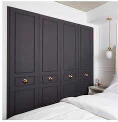 16 Trendy bifold closet door makeover diy master b Master Bedroom Diy, Interior, Diy Wardrobe, Bedroom Closet Doors, Master Bedroom Closet, Painted Closet, Home Decor, Door Makeover Diy, Easy Diy Decor