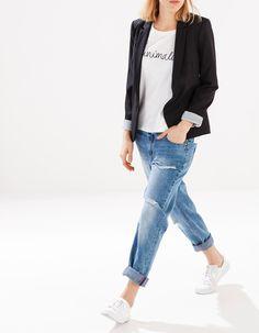 Blazer with pockets