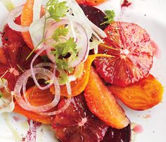 Blood Orange, Beet, and Fennel Salad Recipe | Epicurious.com