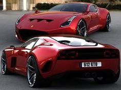 2010 Ferrari Sports Cars 612 GTO Concept