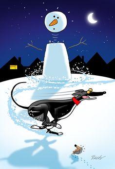 Snowman Zoomie by RichSkipworth
