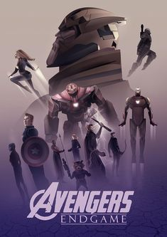 Avengers End Game - So much is going on in this movie, but it's still incredible. The down side is if you haven't seen certain Marvel Movies then you will be lost with all the time travel stuff. Poster by Von Cristhian Hova Marvel Avengers, Marvel Comics, Films Marvel, Avengers Film, Marvel Comic Universe, Marvel Fan, Marvel Characters, Marvel Heroes, Marvel Cinematic Universe