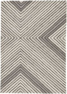 The pattern-rich Asos collection is a fusion of geometric intrigue and plush comfort. The Tremont rug showcases an eye-catching linear design, hand-tufted and texturally carved of 100% natural wool. Tones of gray create a dimensional colorway for a modern dose of contrast. LEARN MORE ABOUT UNDYED WOOLS