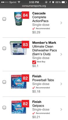 Ecover Naturally Derived Automatic Dishwasher Tablets Review   Best  Dishwasher Detergents   Pinterest   Dishwasher Detergent And Dishwashers