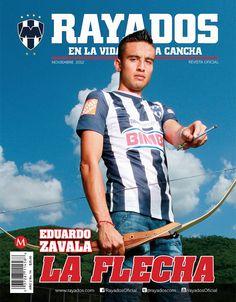 Jesús Zavala en la Revista #Rayados noviembre
