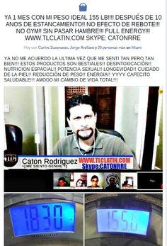 VIVIENDO FELIZ!!! PESO IDEA 155LB!!! YA 1 MES!! SIN EFECTO DE REBOTE!!! SIN GYM!! SIN ANSIEDAD!! Y CON ENERGIA!! WWW.TLCLATIN.COM #5LBEN5DIAS
