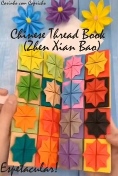 Cool Paper Crafts, Paper Crafts Origami, Diy Arts And Crafts, Fun Crafts, Instruções Origami, Origami And Quilling, Origami And Kirigami, Chinese Paper Folding, Diy Gifts