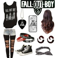 fall out boy concert by ginaambrose0625 on Polyvore