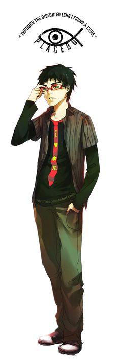 Fisheye Placebo: Vance by `yuumei on deviantART Manga Boy, Anime Manga, Anime Love, Anime Guys, Fisheye Placebo, Yuumei Art, Short Comics, Anime Japan, True Art