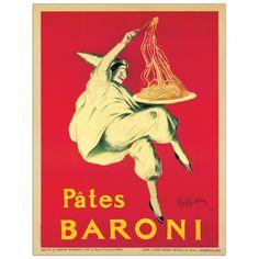 CAPPIELLO - Pates Baroni 100x131 cm #artprints #interior #design #CAPPIELLO Scopri Descrizione e Prezzo http://www.artopweb.com/autori/leonetto-cappiello/EC20841