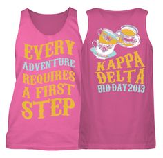 Kappa Delta Alice in Wonderland Tea Party Bid Day