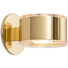 "Would love this for my bathroom! Holtkoetter Up-Down 5 1/4"" Wide Polished Brass Wall Sconce 