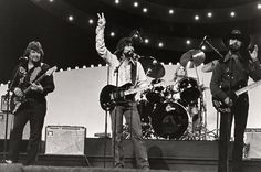 "Country super group Alabama performs at ""The 15th Annual CMA Awards"" (10/12/1981)."
