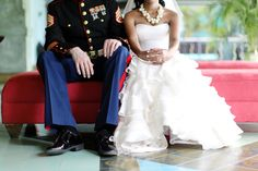 Dreams of a military wedding