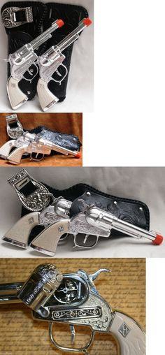 Diecast 152939: Set Cowboys Cap Gun Holster Set Two Guns Two Beautiful Holsters And Belt 10001 -> BUY IT NOW ONLY: $32.99 on eBay!