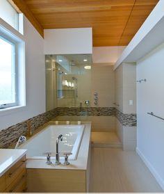 The New Bathroom Trend Smaller Bathtub Bigger Showerdesigned Alluring Bathroom Design Seattle Review