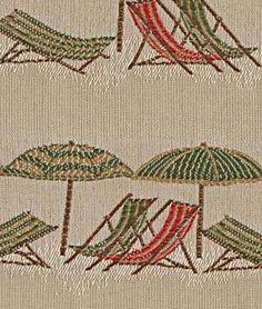 Robert Allen Beach Time Raffia Fabric