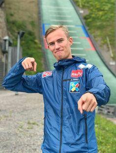 Andreas Wellinger, Ski Jumping, Norway, Skiing, Rain Jacket, Windbreaker, My Favorite Things, Jumpers, Sports