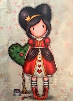 Sweet Drawings, Girly Drawings, Pretty Art, Cute Art, Cute Images, Cute Pictures, Cross Stitch Games, Spongebob Drawings, Cute Girl Drawing