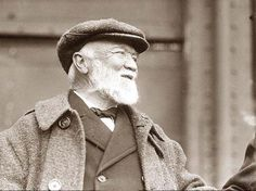 This is Andrew Carnegie. He had a huge impact on my life because he owns the steel factory I work at and he hired me.