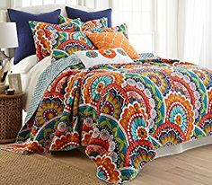 $136 Amazon.com: Serendipity Full/Queen Quilt Set: Bedding & Bath