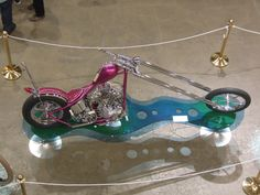 Glowing Dolphin at Kustom Kulture show