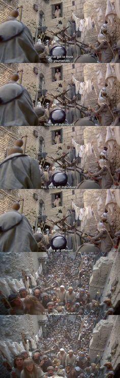 фильм, жанр Life of Brian: Im not! - Funny scenes, Funny screencaps