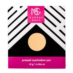 MakeupGeek eyeshadow pan in peach smoothie