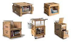 Móveis de Caixotes | Design Innova