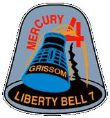 Mercury Liberty Bell 7 Mission Patch