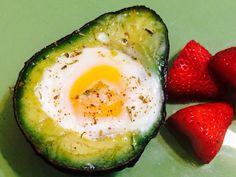 Tried the baked avo/egg- super easy & delicious!  http://www.nopieceofpaleocake.com/2013/09/recipe-baked-egg-in-avocado.html?m=1