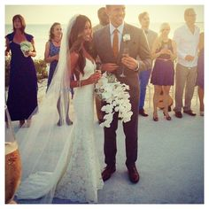 Our stunning bride in the Katie May Poipu Bridal Gown. http://www.katiemay.com/products/poipu