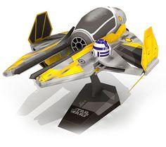 ETA-2 Anakins Jedi Starfighter Paper Model