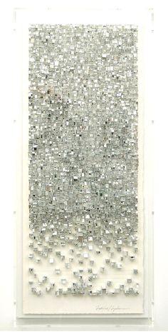 patternprintsジャーナル:KATSUMI早川による用紙のインストールAMAZING GEOMETRICALパターンに