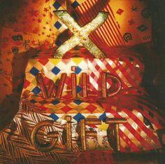 X ''Wild Gift'' Paper Sticker $1.00  #punk #stickers www.drstrange.com