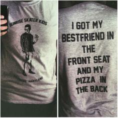 T-shirt of the popular YouTube video, Every Pop-Punk vocalist by Jarrod Alonge.