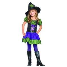 Leg Avenue 187564 Hocus Pocus Witch Child Costume Size: X-Small