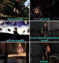 Rise of the Brave Tangled Dragons <3 This literally my favorite thing right now.