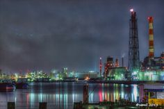 Keihin industrial area. 京浜工業地帯  #HDR #hdrphotography #hdrtonemapping #photomatix #topazadjust