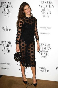 See our favorite red carpet looks from Bazaar UK's 2014 Women of the Year Awards