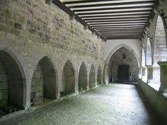 Orreagako Santa Maria Errege Kolegiatako kalostra